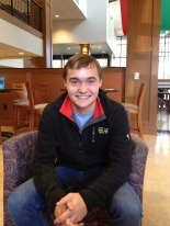Colin Lennox K'14 is the only member of StuComm on the Council.
