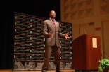 Van Jones spoke to students, faculty, and the community last week for the William Weber Lecture in Government and Society.